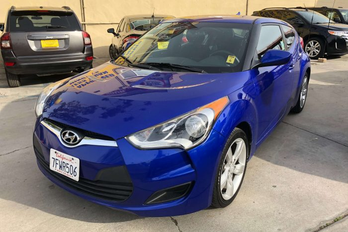 FOR SALE: 2014 HYUNDAI VELOSTER, 67K MILES