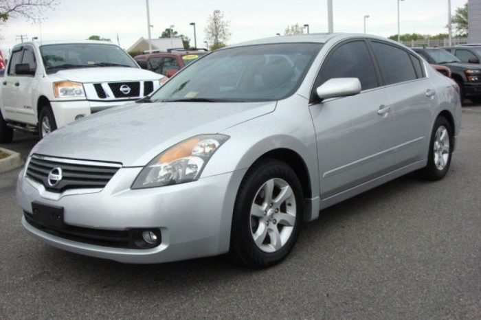 09 NISSAN ALTIMA (8RRY104)