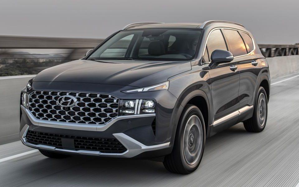2021 Hyundai Santa Fe Price Up as Engine Options Get ...